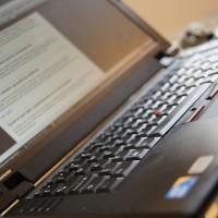 kensington-lås på computer